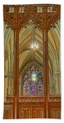 Saint Patricks Cathedral Bath Towel