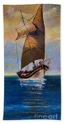 Ship Ahoy Bath Towel