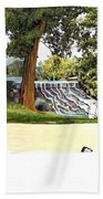 Silver Lake Mill -summer Bath Towel
