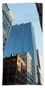 Skyscrapers In A City, Boston Bath Towel