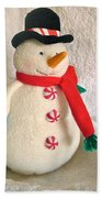 Snowman Bath Towel