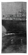 Steamship Accident, 1914 Hand Towel