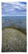 Sturgeon Point Lighthouse Bath Towel