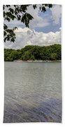 Summer Time At Moraine View State Park Bath Towel