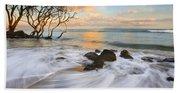 Sunset Tides Bath Towel
