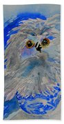 Teacup Owl Bath Towel