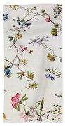 Textile Design Bath Towel