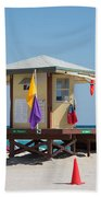 The Beach In Hollywood Florida Bath Towel