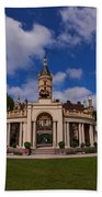 The Castle Of Schwerin Bath Towel
