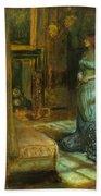 The Eve Of St Agnes Bath Towel