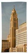 The Leveque Tower Of Columbus Ohio Bath Towel