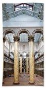 The National Building Museum In Washington Dc Usa Bath Towel