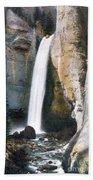 Tower Falls Yellowstone National Park Bath Towel