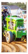 Tractor Pull Bath Towel