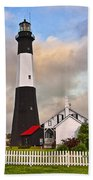 Tybee Lighthouse Bath Towel
