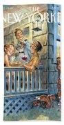 New Yorker July 28th, 2008 Bath Sheet