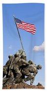 Us Marine Corps Memorial Bath Towel