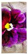 Vibrant Violet  Bath Towel