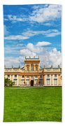 Wilanow Palace In Warsaw Poland Bath Towel