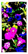 Wild Flowers Bath Towel