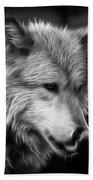 Wolf Eyes Bath Towel