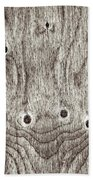 Wooden Background Hand Towel