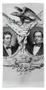 Presidential Campaign, 1860 Hand Towel