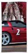 2008 Corvette Bath Towel