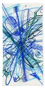 2010 Abstract Drawing 21 Bath Towel