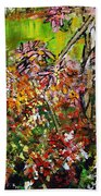 2012 119 Daisies Butterfly Garden United States Botanic Garden Washington Dc Bath Towel