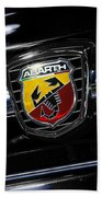 2013 Fiat 500 Abarth Bath Towel
