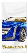 2014 Cadillac Ciel Concept Bath Towel