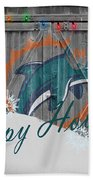 Miami Dolphins Hand Towel