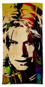 David Bowie Collection Bath Towel