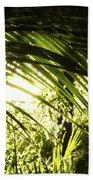Tropical Forest Bath Towel