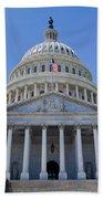 Us Capitol Building Bath Towel