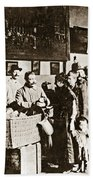 Wwi Refugees, 1918 Bath Towel