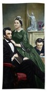 Abraham Lincoln (1809-1865) Bath Towel