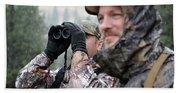 Hunting In Oregon Hand Towel