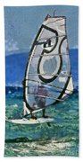 Windsurfing Bath Towel