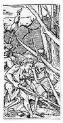 Dance Of Death, 1538 Bath Towel