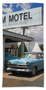 Route 66 - Wigwam Motel Bath Towel