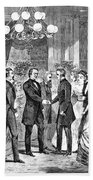 Andrew Johnson (1808-1875) Hand Towel
