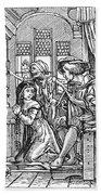 Dance Of Death, 1538 Bath Towel