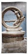 1912 Gobron-brillie 12 Cv Skiff Hood Ornament Bath Towel