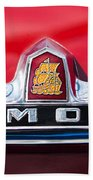 1949 Plymouth P-18 Special Deluxe Convertible Emblem Bath Towel