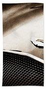 1953 Aston Martin Db2-4 Bertone Roadster Hood Emblem Bath Towel