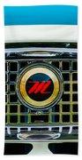 1959 Nash Metropolitan Grille Emblem Bath Towel