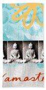 Buddha Hand Towel by Linda Woods