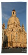Church Of Our Lady  -  Dresden - Germany Bath Towel
